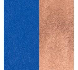 Cuir pour pendentif rond 45 MM collier Les Georgettes - Bleu outremer / Rose sirène 703110099DK000