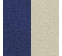 Vinyles boucles d'oreilles 16 mm Les Georgettes - Indigo / Blanc cassé 703218284DI000