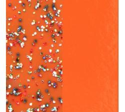 Vinyles boucles d'oreilles 30 mm Les Georgettes - Orange pailleté / Orange soft 703218384DM000