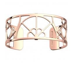 Bracelet manchette 25 MM LES GEORGETTES doré rose brillant Eventail 70346734000000