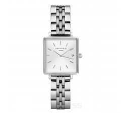 Montre femme ROSEFIELD The boxy XS blanc sunray 33 mm QMWSS-Q020