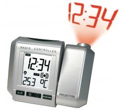 Réveil Radio controlé avec projection LCD WT535.1