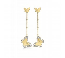 Boucles d'oreilles Guess LOVE BUTTERFLY UBE78017