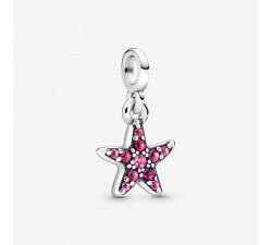 Charm pendant Mon étoile de mer rose en Argent 925/1000ᵉ PANDORA ME 799011C01