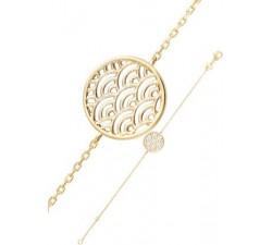 Bracelet GO Mademoiselle plaqué or jaune 605503