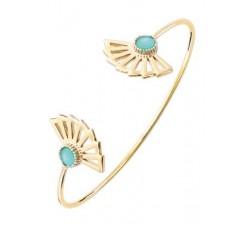Bracelet jonc GO Mademoiselle plaqué or jaune 605504