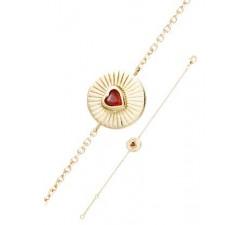 Bracelet GO Mademoiselle plaqué or jaune 605523