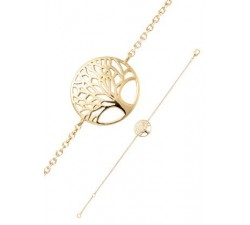 Bracelet GO Mademoiselle plaqué or jaune 605533