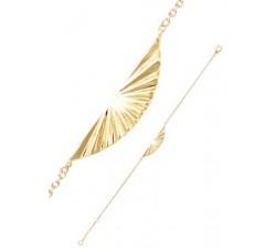 Bracelet GO Mademoiselle plaqué or jaune 605535