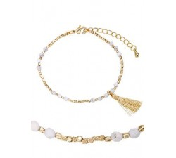 Bracelet GO Mademoiselle métal doré jaune 608003
