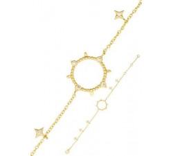 Bracelet GO Mademoiselle métal doré 608021