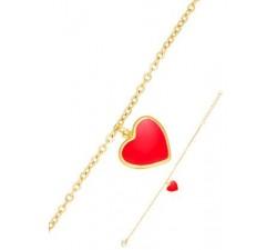 Bracelet GO Mademoiselle acier doré jaune 608078