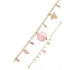 Bracelet GO Mademoiselle acier doré jaune 608103