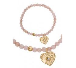 Bracelet GO Mademoiselle acier doré jaune 608109