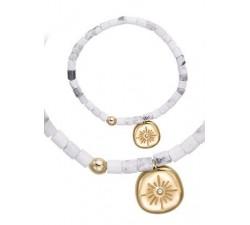 Bracelet GO Mademoiselle acier doré jaune 608152