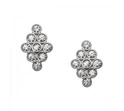 Boucles d'oreilles femme acier FOSSIL JF02314040