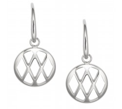 Boucles d'oreilles femme acier FOSSIL JF02722040