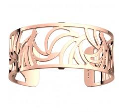 Bracelet manchette 25 MM LES GEORGETTES doré rose brillant Bananas 70346674000000