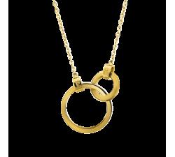 Collier femme Séduction Acier doré jaune Pierre Lannier BJ02A0201