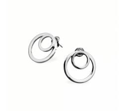 Boucles d'oreilles femme Séduction Acier Pierre Lannier BJ02A2101