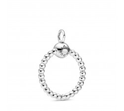 Petit pendentif O perlé Pandora Moments en Argent 925/1000 Pandora 399077C00