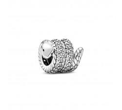 Charm mousseux Enveloppé charme de serpent en Argent 925/1000 PANDORA 799099C01