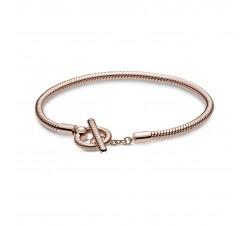 Bracelet à chaîne serpentine Pandora Rose Moments 589087C00