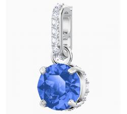 Swarovski Remix Collection Charm, septembre, Bleu foncé, Métal rhodié 5437319