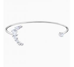 Bracelet Manchette Penélope Cruz Moonsun, blanc, Métal rhodié Swarovski 5508443