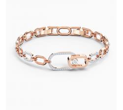 Bracelet Swarovski Sparkling Dance North, blanc, finition mix de métal Swarovski 5554217