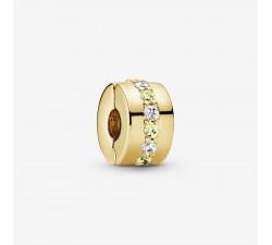 Charm Clip Rangée Scintillante Jaune Pandora Shine 768645C01