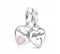 Charm Pendentif Mère et Fille en Argent 925/1000 PANDORA 799187C01