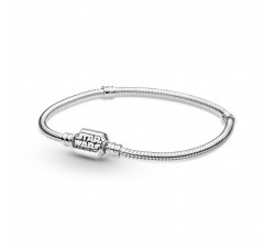 Star Wars x Pandora Bracelet chaîne serpent Pandora Moments en argent 925/1000 599254C00