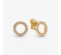 Boucles d'oreilles Cercles Scintillants PANDORA Shine 268649C01