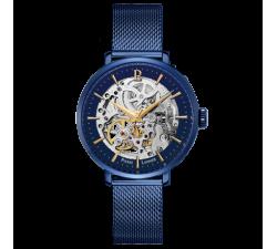 Montre femme Acier milanais bleu Automatique Pierre Lannier 309D968