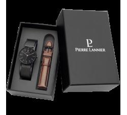 Montre homme Coffret bracelets interchangeables Pierre Lannier 378B438
