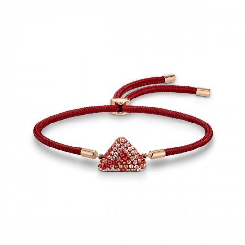 Bracelet Swarovski Power Collection Fire Element, rouge, métal doré Swarovski 5568269