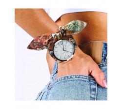 Set 1 soie (montre argent + 2 bracelets ) Gabriel Rivaz PW2