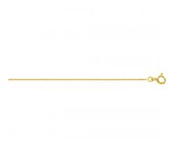 Chaîne gourmette or jaune 375/1000, 0,88 mm  by Stauffer