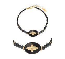 Bracelet GO Mademoiselle métal doré jaune 608116