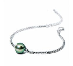Bracelet Pure argent et perle de Tahiti IZA B NI-025-BRA