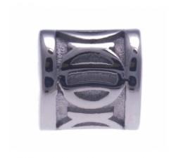 Stilivita bracelet chemin de vie bille acier tube décoratif - diamètre 6mm SI 103