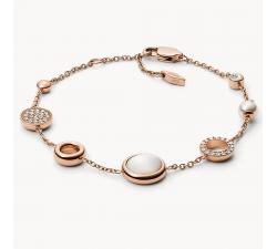 Bracelet femme Glitz acier Fossil JF02959791