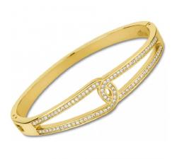 Bracelet rigide acier LOTUS STYLE LS2115-2/2