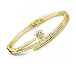 Bracelet rigide acier LOTUS STYLE LS2123-2/2