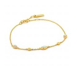 Bracelet femme argent 925/1000 doré Ania Haie Mineral Glow B014-02G