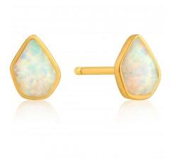 Boucles d'oreilles femme argent 925/1000 doré Ania Haie Mineral Glow E014-03G