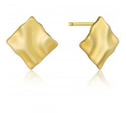 Boucles d'oreilles femme argent 925/1000 doré Ania Haie Metal Crush E017-05G