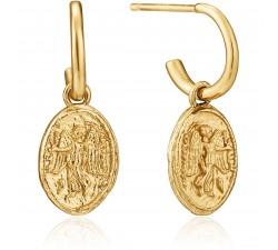 Boucles d'oreilles femme argent 925/1000 doré Ania Haie Gold Digger E020-03G