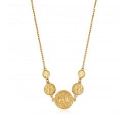 Collier femme argent 925/1000 doré Ania Haie Gold Digger N020-03G